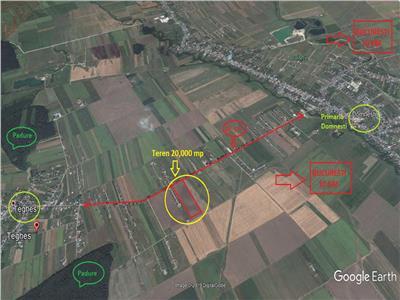 Vanzare teren Domnesti - Teghes, Ilfov