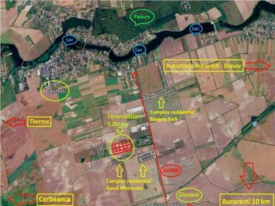 Vanzare teren Balotesti - Dimieni, Ilfov