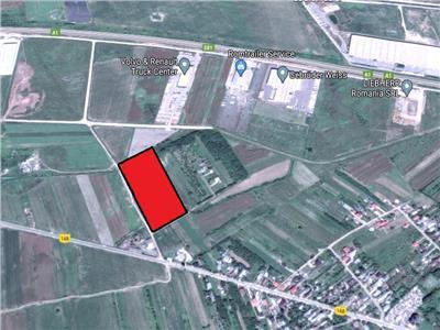 Vanzare teren Bolintin Deal - A1 - KM24, Giurgiu