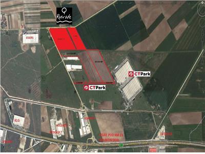 Vanzare teren Bolintin Deal - Bucuresti - Pitesti - KM23 - Joita