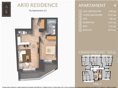 Vanzare apartament 2 camere Dacia- Eminescu, Bucuresti
